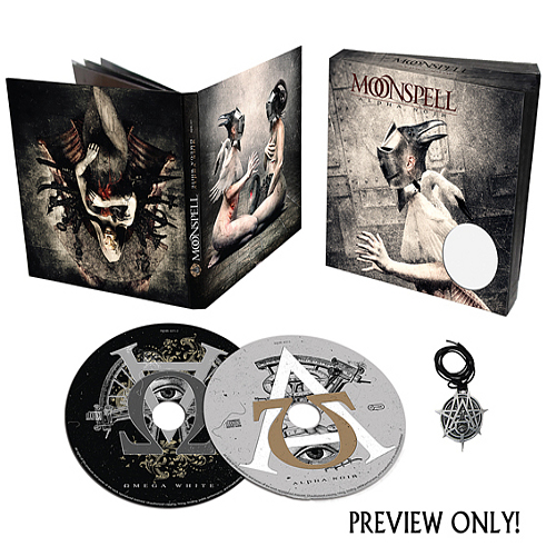 Moonspell Alphanoiromegawhite-boxset